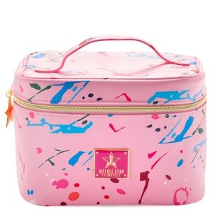 Jeffree Star Jawbreaker Pink Cosmetic Bag